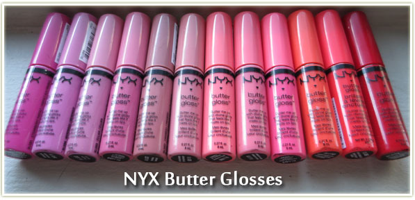 Review Nyx Butter Glosses Entire Collection Makeup Your Mind