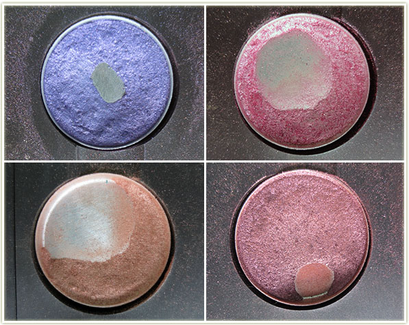MAC – Parfait Amour, Swish, All That Glitters, Star Violet