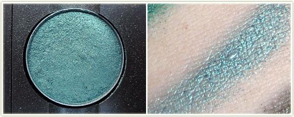 My MAC Greens Amp Blues Palette