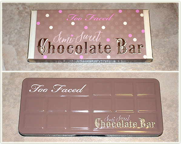 Too Faced Semi-Sweet Chocolate Bar palette ($59 CAD) & What I Bought This Month u2013 December 2014 Haul - Makeup Your Mind Aboutintivar.Com