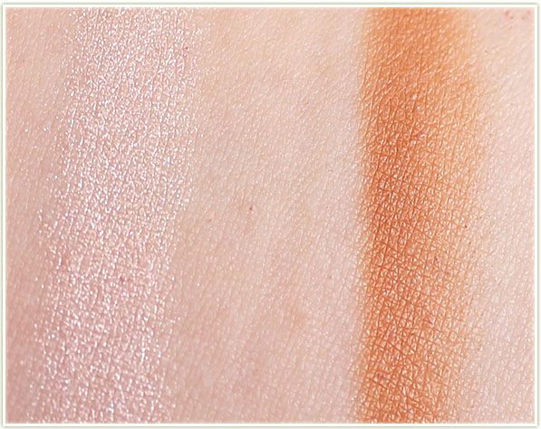 Make Up For Ever Pro Sculpting Duo #1 – swatches