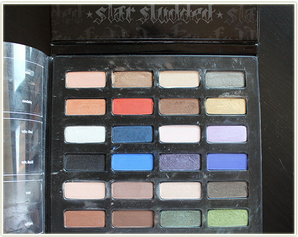 Kat Von D – Star Studded Eyeshadow Book (free – swap)