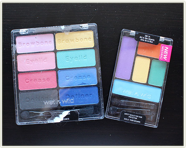 Wet n Wild palettes in Poster Child and Art in the Streets (free – swap)