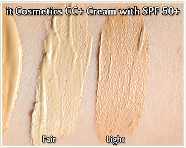 it Cosmetics CC+ in Fair and Light