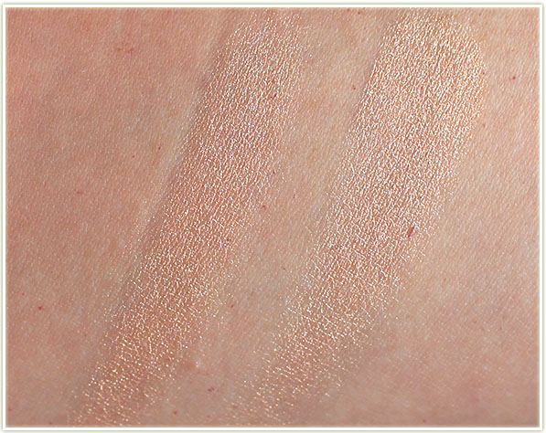 Becca - Champagne Pop swatches