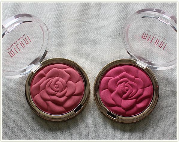Milani blushes in Tea Rose & Love Potion (free - gift)