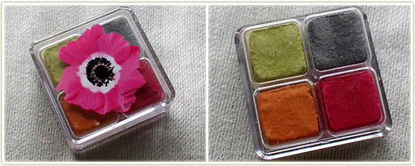 The Body Shop Shimmer Cubes in Pink Poppy (free - gift)