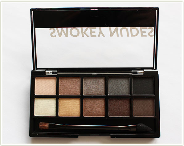 Annabelle Smokey Nudes palette