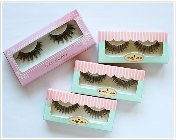 Houses of Lashes Iconic ($12USD), and three sets of Bombshell ($18 USD)
