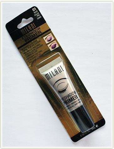 Milani eyeshadow primer ($7.79 USD)