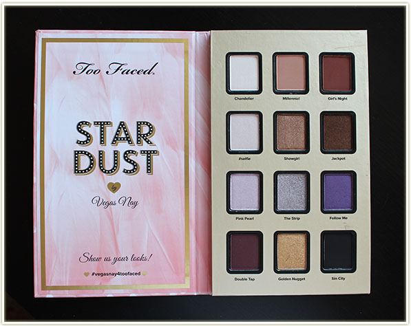 Too Faced Star Dust palette by Vegas Nay ($45 USD)