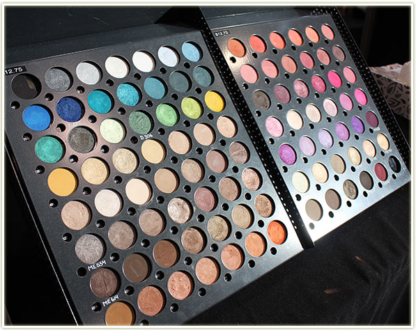 Make Up For Ever eyeshadows