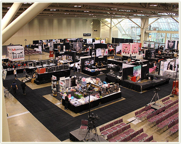 IMATS floor space at the Metro Toronto Convention Centre