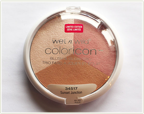 Wet n Wild Color Icon trio in Sunset Junction (free)
