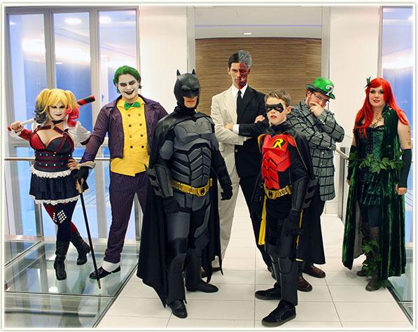 Halloween 2015 Squad: Batman & Robin + Villains