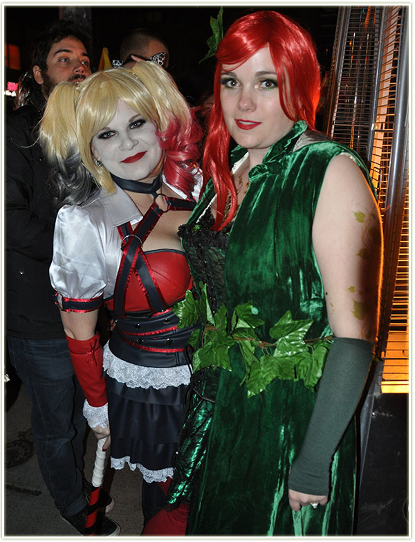 Halloween 2015: Harley Quinn and Poison Ivy
