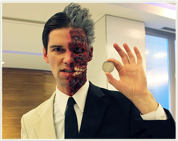 Halloween 2015 - Two Face