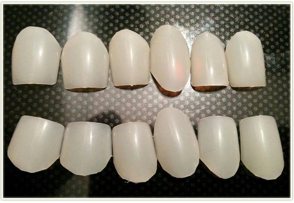 2015halloKISS fake nails