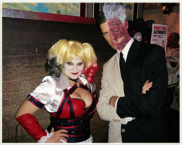 Halloween 2015 - Harley Quinn and Harvey Dent