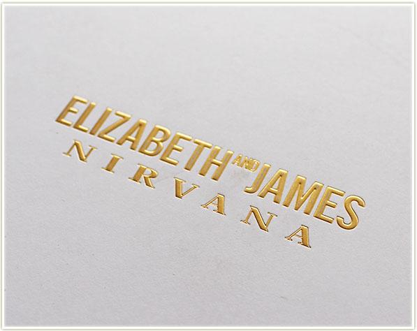 Elizabeth & James Nirvana White