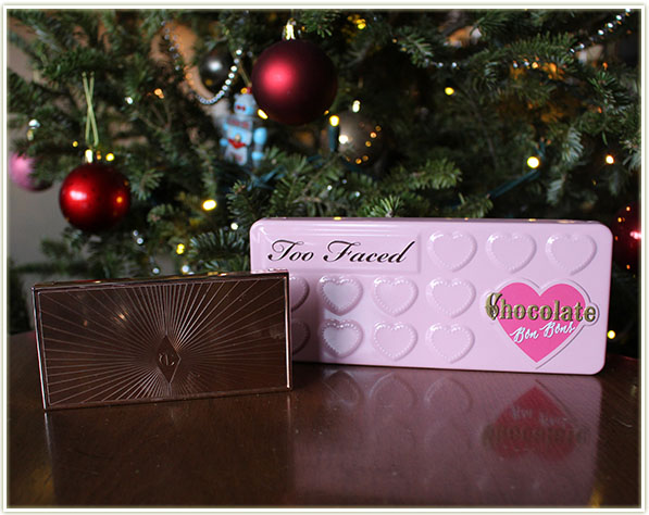 Charlotte Tilbury Filmstar Bronze & Glow and Too Faced Chocolate Bon Bons
