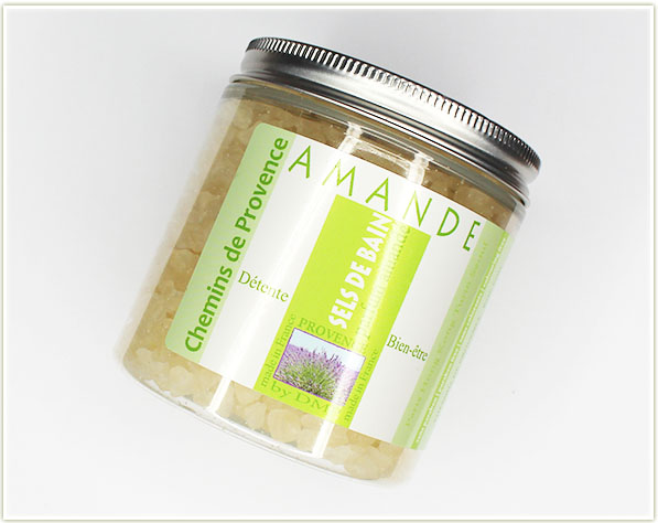 Chemins de provence sels de bain - amande (free - gift)