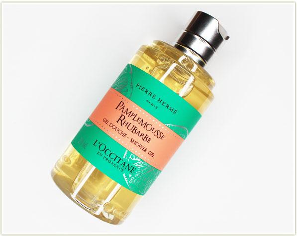 L'Occitane Pamplemousse + Rhubarbe shower gel (free - gift)
