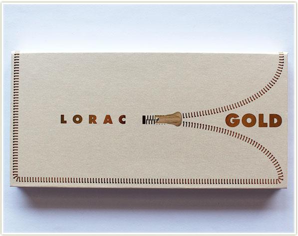 Lorac Unzipped Gold (free - gift)