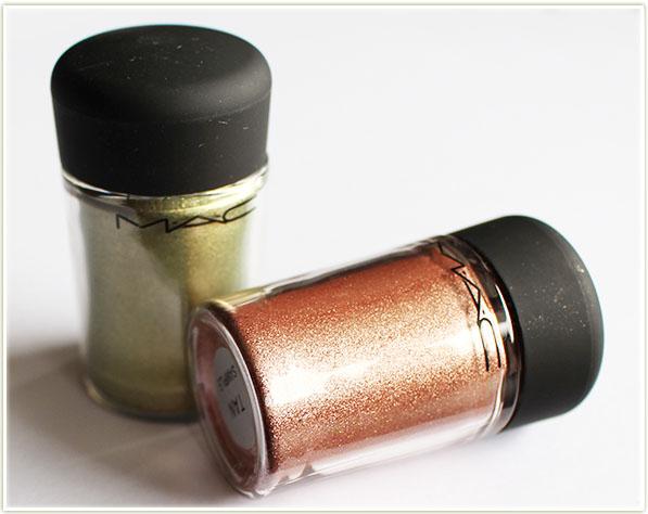 MAC - Flamingo Park - Golden Olive and Tan pigments ($26 CAD/$22 USD)