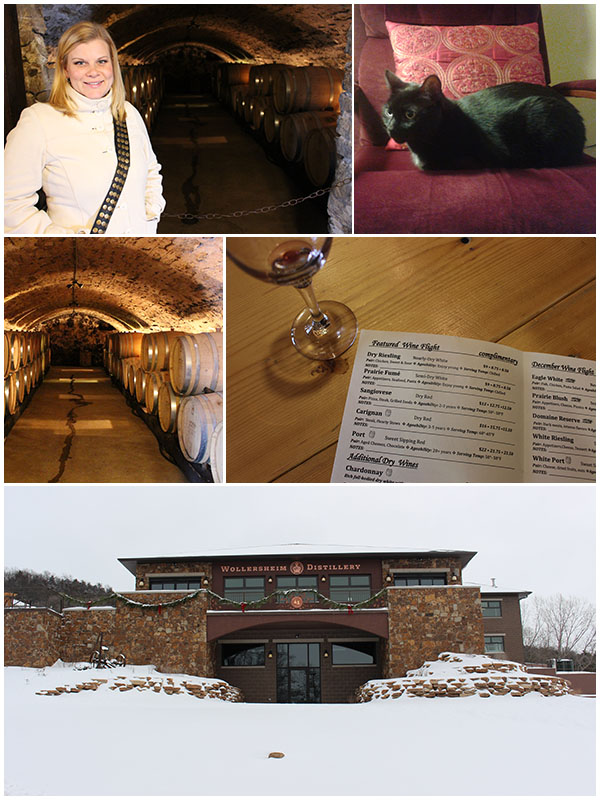 Day 5 - Wollersheim winery, spa (not pictured)
