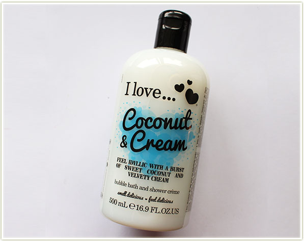 I love... Coconut & Cream
