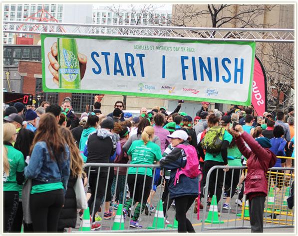 2016 Achilles St. Patrick's Day 5K