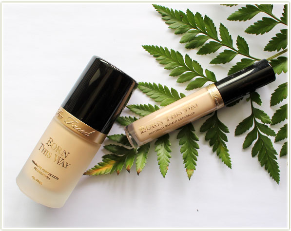 Too Faced Born This Way Foundation + Concealer (Review & Swatches ...