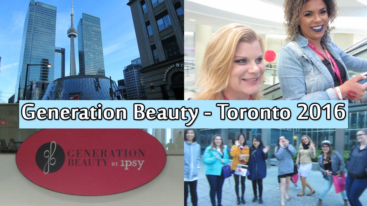 Generation Beauty Toronto 2016
