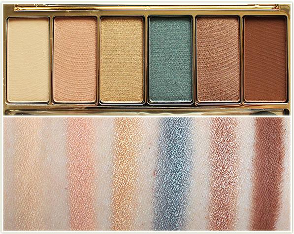 Estee Lauder Summer Glow Eyeshadow Palette - swatches