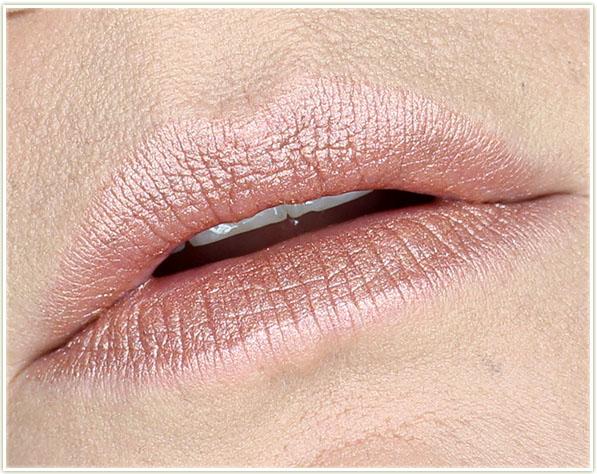 MAC Star Trek - Frost Lipstick in LLAP - lip swatch