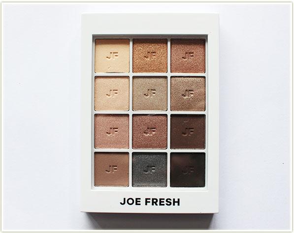 Joe Fresh Neutrals Eyeshadow Palette