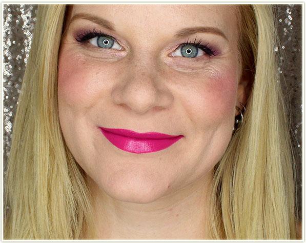 Wearing NARS Audacious Lipstick in Stefania