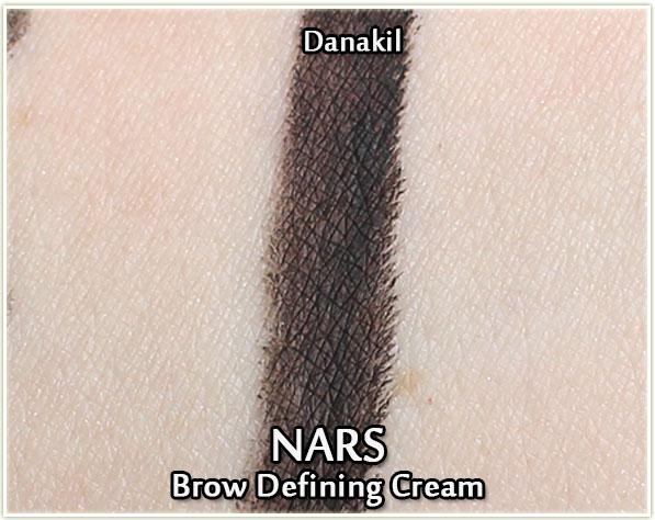 NARS Brow Defining Cream in Danakil - swatch