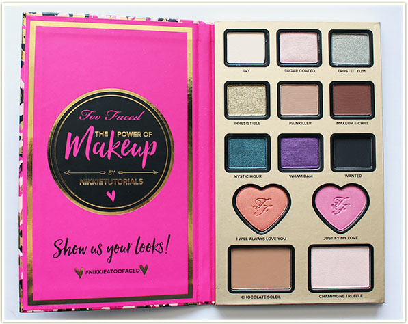 Too Faced x Nikkie Tutorials - The Power of Makeup ($68 CAD)