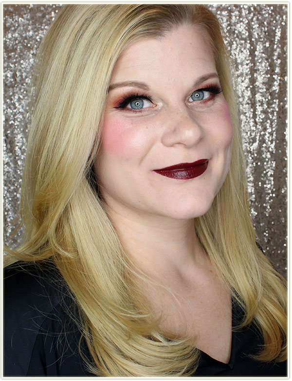 Wearing NARS Audacious Lipstick in Bette