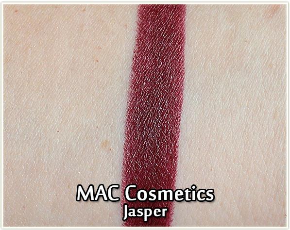 MAC Cosmetics - Kabuki Magic - Jasper lipstick swatch