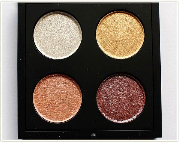 MAC Cosmetics - Kabuki Magic - The Shining Hour quad