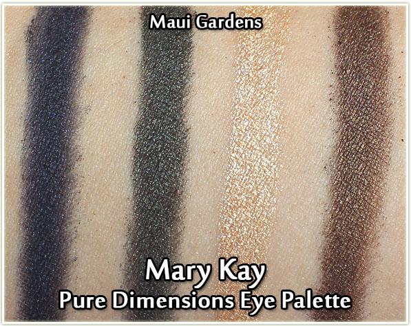 Mary Kay - Maui Gardens - swatches