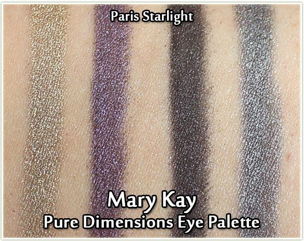 Mary Kay - Paris Starlight - Swatches