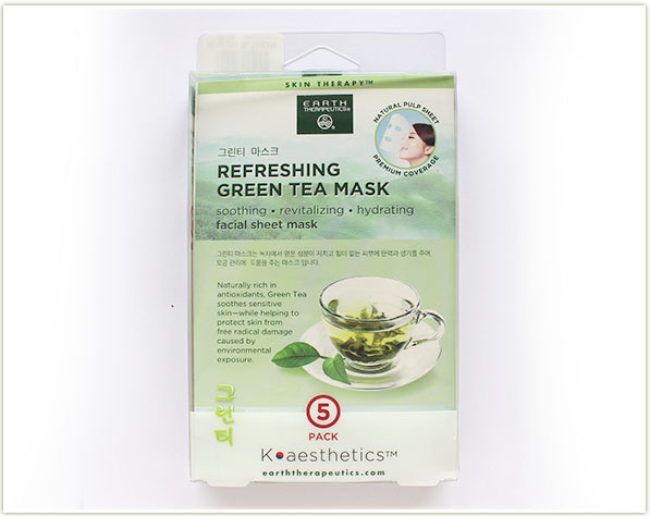 Earth Therapeutics - Refreshing Green Tea Mask (free - gift)