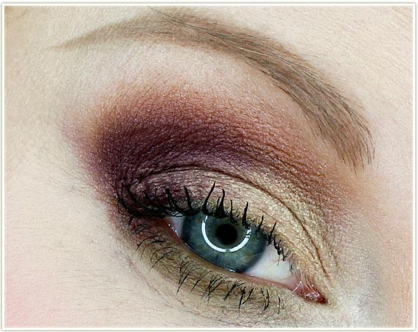 Beautycounter Desert Sunrise eyeshadow look