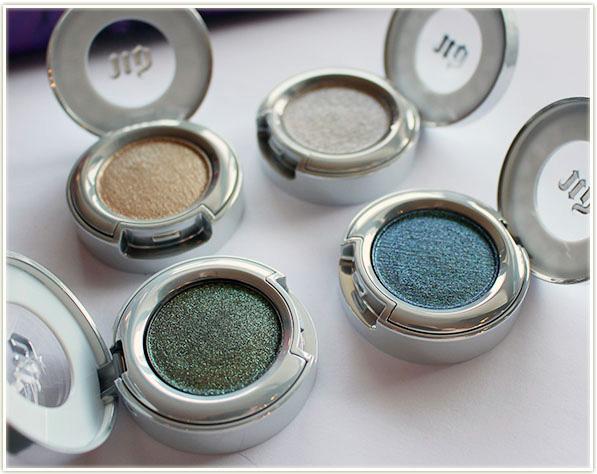 Urban Decay Moondust Eyeshadows