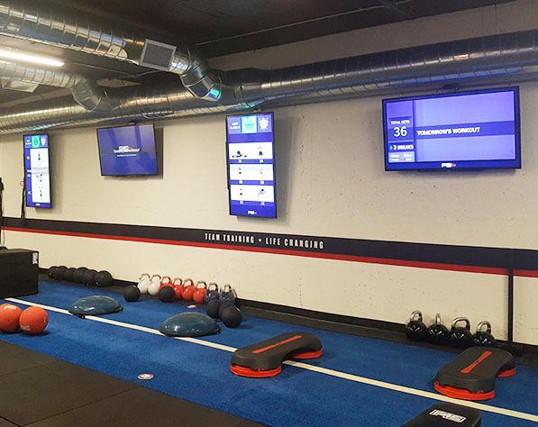 F45 training area