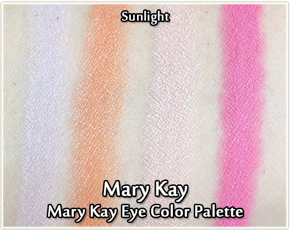 Mary Kay Spring 2017: Light, Reinvented -Eye Color Palette in Sunlight
